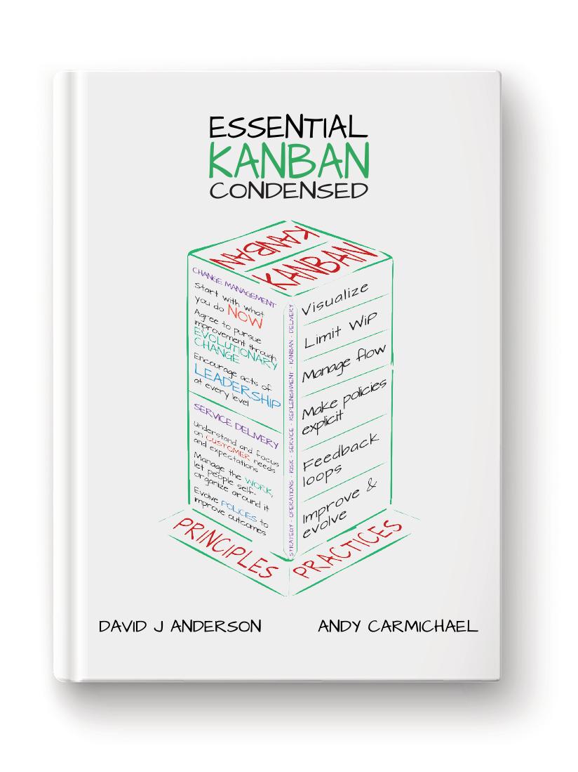 Essential Kanban Condensed eBook Cover English