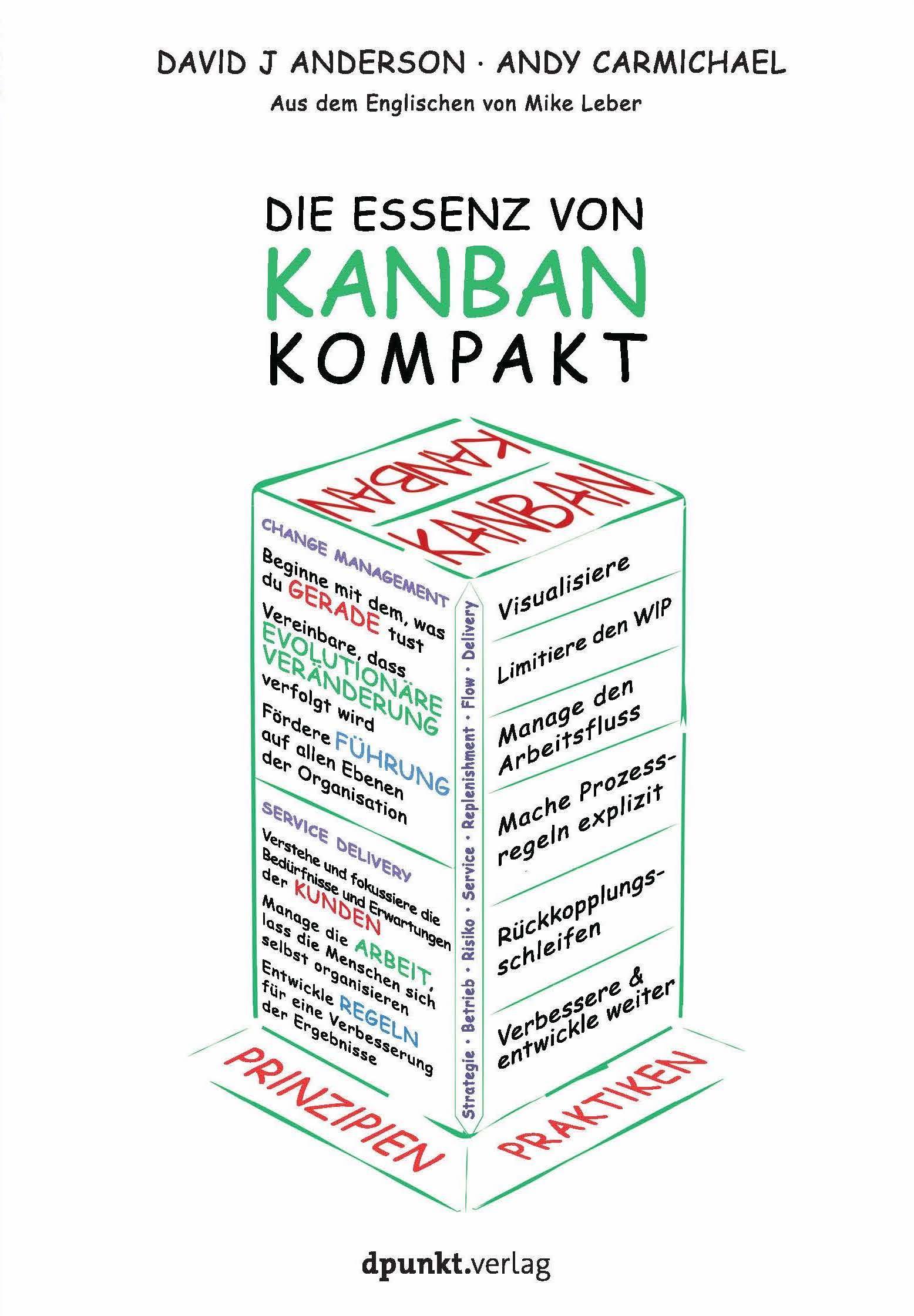 Essential Kanban Condensed eBook Cover German